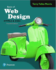 4th Edition of Basics of Web Design: HTML5 & CSS3